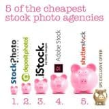 5 of the best cheap stock photos agencies plus an exciting bonus