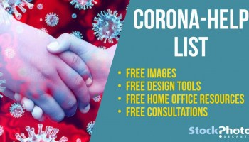 Home But Not Stuck! The Corona-Help List of Free Images & Resources