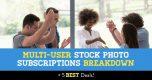 Multi-User Stock Photo Subscriptions Breakdown (+ 4 Best Deals)