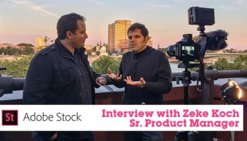 Interview with Zeke Koch from Adobe Stock about the Service's New and Upcoming Features