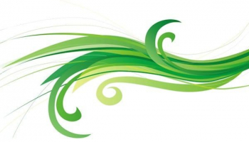 Free green abstract background Vector