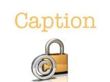 Do i need to write a caption below a image i use on my website