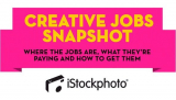 iStockphoto Infographic – Successful Creative Jobs