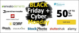 Black Friday 2021 & Cyber Monday 2020: All Must-Have Stock Photo Deals