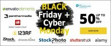Black Friday 2020 & Cyber Monday 2020: All Must-Have Stock Photo Deals