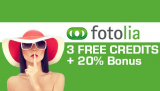 Fotolia Promo Code – 3 Free Credits Coupon + 30% More amazing Photos