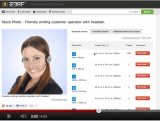 How to instantly download free stock photos from 123rf (VIDEO)