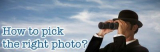 How to pick the right stock photo for your website or blog