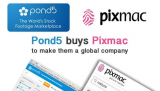 Pond5 buys Pixmac to make them a global company