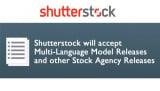 Shutterstock will accept Multi-Language Model Releases