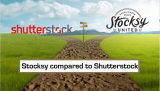 Stocksy compared to Shutterstock – two different stock agencies