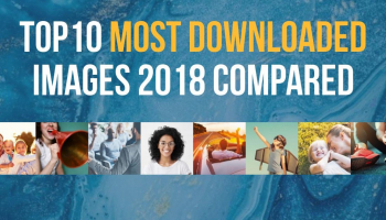 The 60 Most Downloaded Images in 2018 from Top Stock Photo Agencies Compared